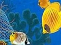 Game Perfect oċean fishes puzzle. Play online
