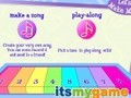 Game Barbie piano . Play online