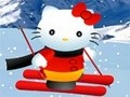 Game Hello Kitty Ski Track . Play online